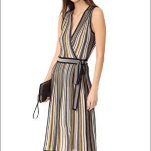 Missoni multicolor wrap dress